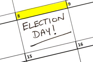 Election day - vote!
